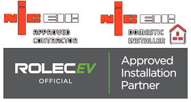 NICEIC Approved Contractor & Domestic Installer.